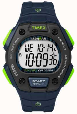 Timex Ironman Classic 30 FS Black And Lime TW5M11600D7PF
