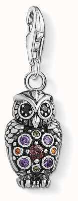 Thomas Sabo Owl Charm Pendant 1479-643-7