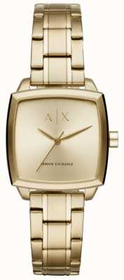 Armani Exchange Womans Nicolette Square Dial AX5452