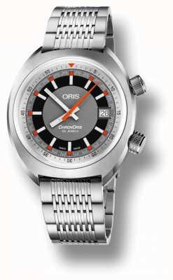 Oris Chronoris Date Grey Dial Stainless Steel Bracelet 01 733 7737 4053-07 8 19 01