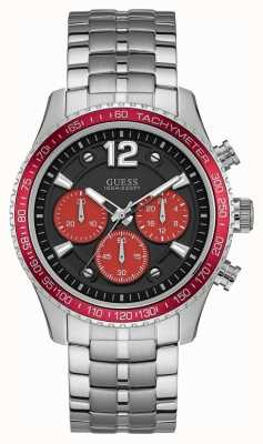 Guess Mens Fleet Sport Black Chronograph W0969G3