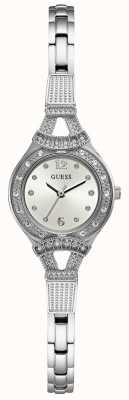 Guess Womens Madeline Silver Tone Jewellery Watch W1032L1
