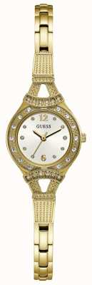 Guess Womens Madeline Gold Tone Jewellery Watch W1032L2