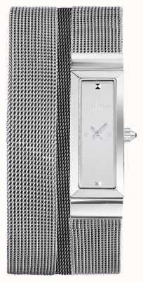 Jean Paul Gaultier Womens Cote De Maille stainless steel mesh bracelet JP8503901
