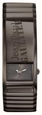 Jean Paul Gaultier Identite Gun Metal Bracelet And Dial JP8503706