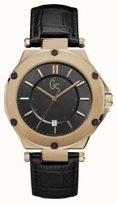 Gc 3 Mens Sport Date Bronze Round Dial X12001G2S