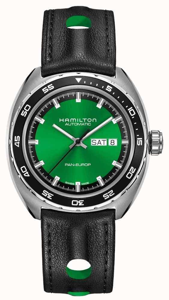 Hamilton American Classic Pan Europ Auto Green Dial