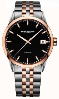 Raymond Weil Mens Freelancer Automatic Rose 2 Tone Stainless Steel 2740-SP5-20011
