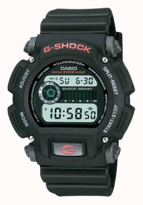 Casio G-Shock Digital Black Resin Chronograph DW-9052-1VER