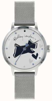 Radley Love Lane Stainless Steel Silver Case Mesh Bracelet RY4323