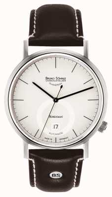 Bruno Sohnle Rondomatt II 41mm Automatic Stainless Steel White Dial 17-12098-241