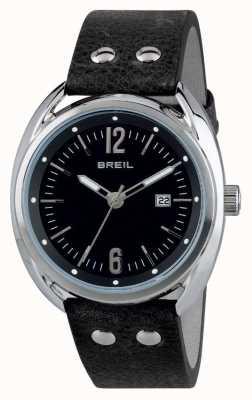 Breil Beaubourg Stainless Steel Black Dial Black Strap TW1669