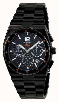 Breil Manta Sport Stainless Steel IP Black Chronograph Black Dial TW1686