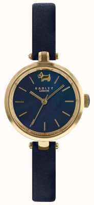 Radley Ladies 28mm Case Navy Dial Ink Leather Strap RY2656