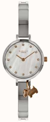 Radley Ladies Silver 24mm Case White Dial With Silver Dog Charm RY4335