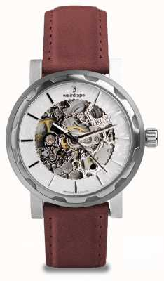 Weird Ape Kolt Automatic Royal Blood Suede Stainless Steel Case WA02-005543