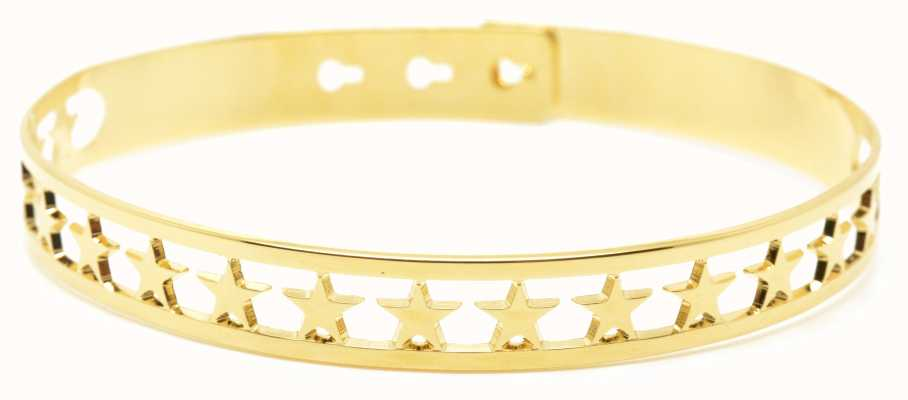 Mya Bay Gold PVD Plated 20 Stars Bangle JX-03.G