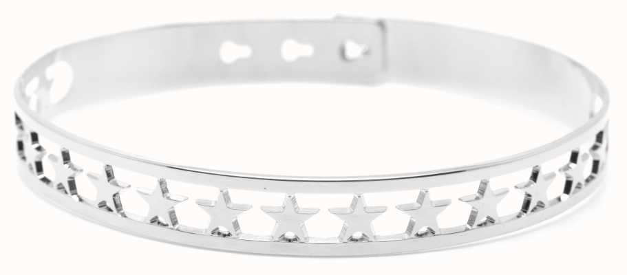 Mya Bay Stainless Steel 20 Stars Bangle JX-03.S