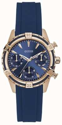 Guess Catalina Womens Sport Analogue Rose Gold Round W0562L3
