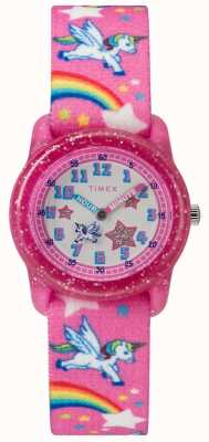 Timex Youth Analog Unicorn Watch TW7C255004E