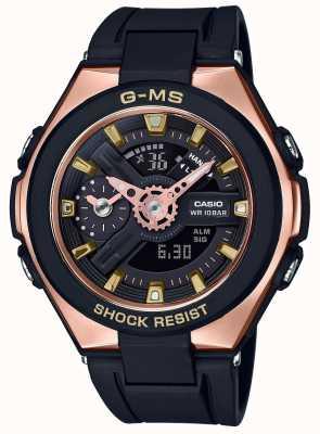 Casio Baby-G G-MS Glamorous Gold Alarm Chronograph MSG-400G-1A1ER
