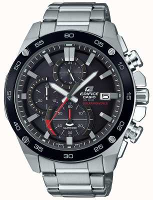 Casio Edifice Solar Sapphire Glass Black Dial Stainless Steel EFS-S500DB-1AVUEF