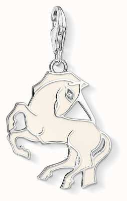 Thomas Sabo Unicorn Sterling Silver Charm 1512-041-14