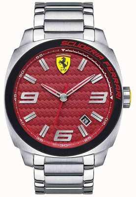 Scuderia Ferrari Aero EVO Mens Stainless Steel 0830167