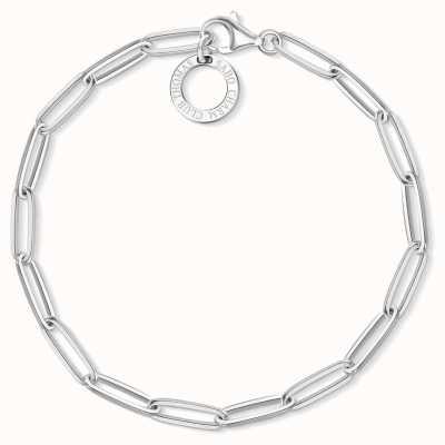 Thomas Sabo 15.5cm Sterling Silver Link Charm Bracelet X0253-001-21-L15,5