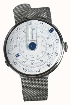 Klokers KLOK 01 Blue Watch Head Steel Milano Strap KLOK-01-D4.1+KLINK-05-MC1