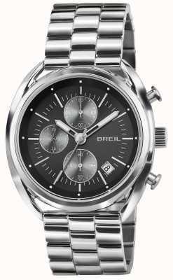 Breil Beaubourg Stainless Steel Chronograph Black Dial Bracelet TW1514
