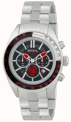 Breil Abarth Stainless Steel Chronograph Black & Red Dial TW1692