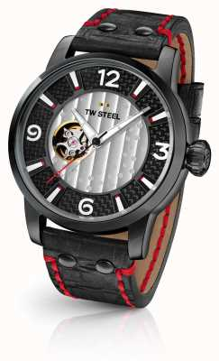 TW Steel Son Of Time Supremo Limited Edition Black Leather Strap MST6