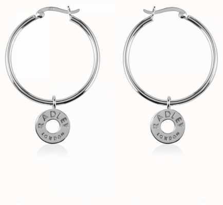 Radley Jewellery Esher Street Sterling Silver Hoop Earrings RYJ1005