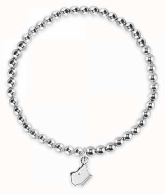 Radley Jewellery Love Radley Dog Head Silver Stretch Bracelet RYJ3011