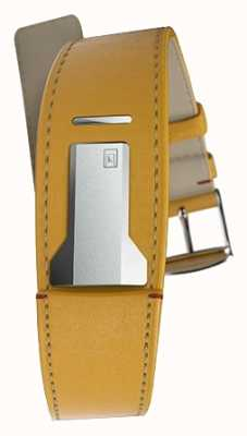 Klokers KLINK 01 Newport Yellow Strap Only 22mm Wide 230mm Long KLINK-01-MC7.1