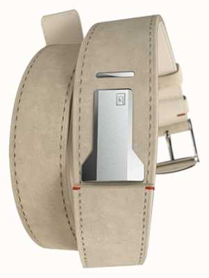 Klokers KLINK 02 Grey Alcantara Double Strap Only 22mm Wide 420mm KLINK-02-420C6
