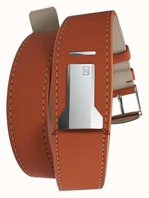 Klokers KLINK 02 Orange Double Strap Only 22mm Wide 420mm Long KLINK-02-420C8