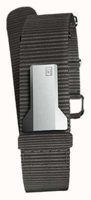 Klokers KLINK 03 Black Textile Single Strap Only 20mm Wide 230mm KLINK-03-MC3