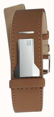 Klokers KLINK 04 Caramel Straight Single Strap Only 22mm Wide 230mm KLINK-04-LC12