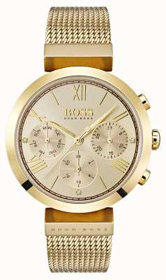 Hugo Boss Ladies Multifunction Classic Sport Gold Day & Date Display 1502425