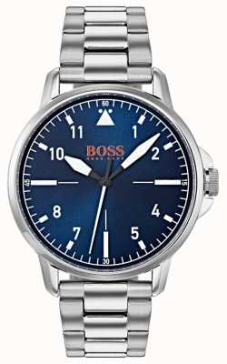 Hugo Boss Orange Blue Dial Stainless Steel Bracelet 1550063