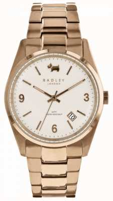 Radley Womens Burnham Beeches Rose Gold Tone Watch RY4310