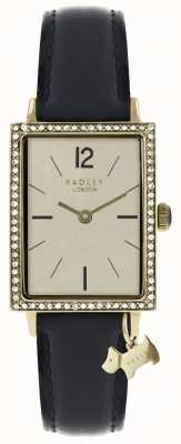 Radley Womens Primrose Hill Watch Black Leather Strap RY2534