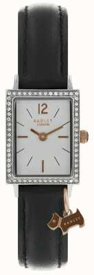 Radley Womens Primrose Hill Watch Black Leather Strap RY2533