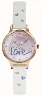 Radley Womens Love Watch Leather Strap Rose Plated RY2574