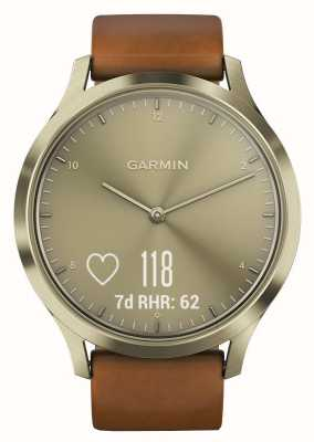Garmin Vivomove HR Premium Activity Tracker Gold/Leather 010-01850-05