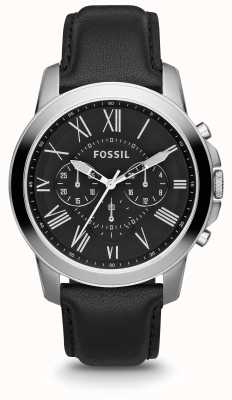 Fossil Mens Grant Leather Strap FS4812IE