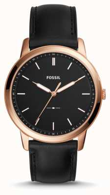 Fossil Mens The Minimalist Leather Strap FS5376