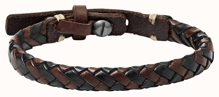 Fossil Mens Vintage Casual Leather Jewellery JA5932716